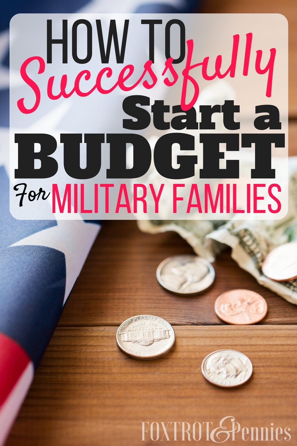 I could never seem to stick to a budget before this! Finally, I'm able to keep my finances organized. This article shows you exactly how to start a budget that your military family can actually stick to and start saving money!